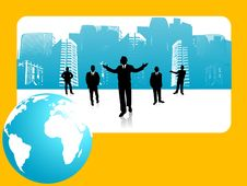 Free Global Businessmen Royalty Free Stock Photography - 5453837