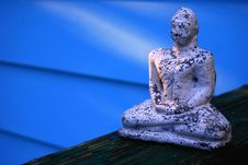 Free Blue Buddha Royalty Free Stock Photography - 5454277