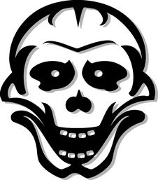 Free Skull Royalty Free Stock Images - 5454289