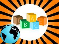 Free Educational Blocks Stock Photo - 5454380