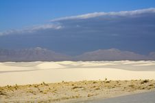 Free After Sunrise In White Dunes National Monument Royalty Free Stock Photos - 5455228