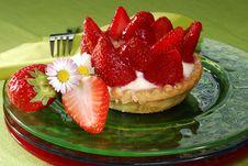 Free Strawberry Cake Royalty Free Stock Image - 5455276