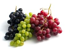 Free Colourful Grapes Royalty Free Stock Images - 5455339