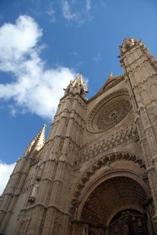 Towers Of Cathedral Royalty Free Stock Photos