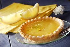 Free Lemon Cake Stock Images - 5455904