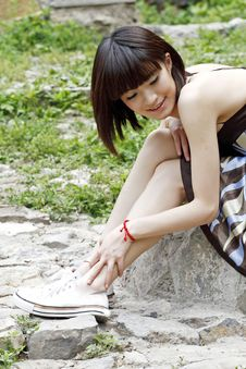 Free A Chinese Girl Stock Photos - 5456583