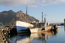 Free Derelict Vessels In Hout Bay Stock Photography - 5456592