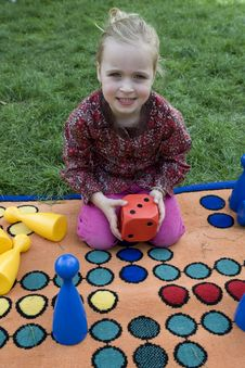Free Child Playing With A Board Royalty Free Stock Images - 5456649