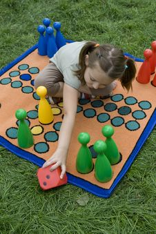 Free Child Playing With A Board Royalty Free Stock Photos - 5456788