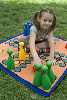 Free Child Playing With A Board Royalty Free Stock Photos - 5456918