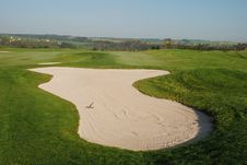 Free Golf Course Royalty Free Stock Image - 5456966