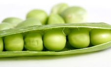 Free Green Peas Royalty Free Stock Images - 5457389