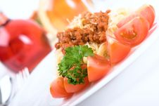 Free Italian Pasta Stock Image - 5457411