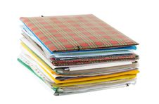 Free Stack Of Folders Royalty Free Stock Images - 5457459