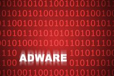 Adware Abstract Background Stock Image