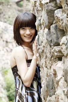 Free A Chinese Girl Royalty Free Stock Photos - 5457748
