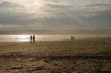 Free Lahinch Beach, Ireland Royalty Free Stock Photos - 5457798
