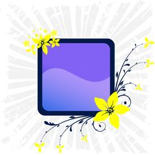 Free Floral Frame Stock Photography - 5457912