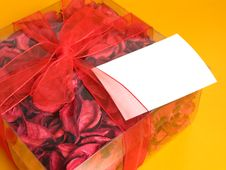 Free Red Potpourri Gift Stock Images - 5458294