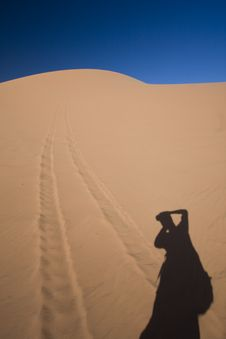 Utah Sand Dunes Photographer Stock Images