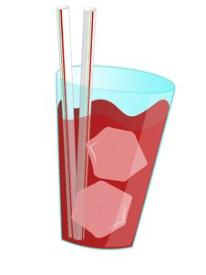 Free Illustration About Red Drink Royalty Free Stock Photo - 5459635