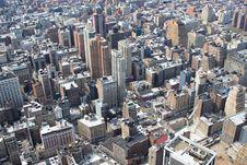Free Manhattan Skyline Stock Photography - 5459712