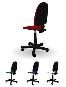 Office Armchair Royalty Free Stock Photos