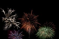 Free Fireworks Exploding Stock Photo - 5459960