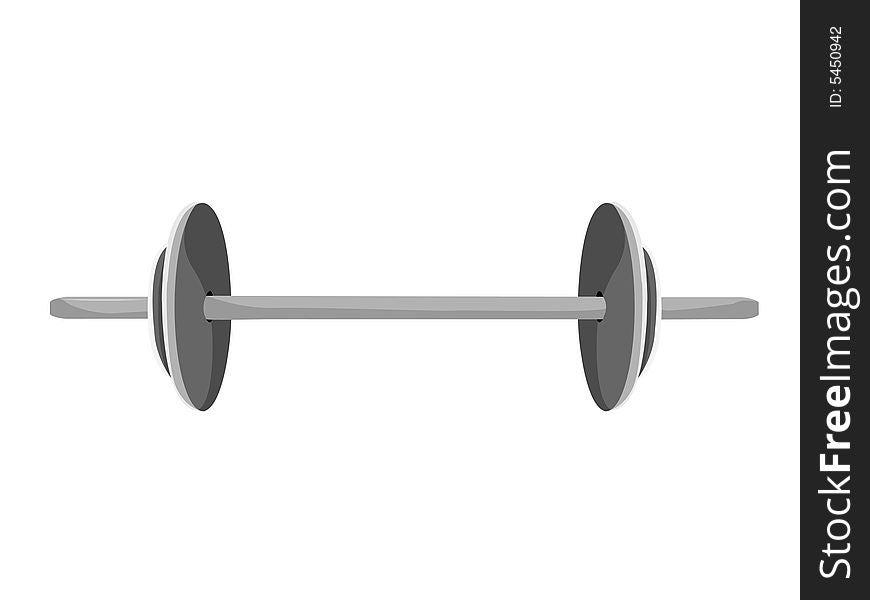 Weightlifting rod