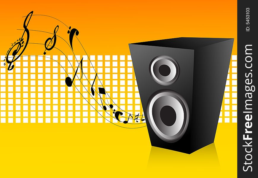 Loudspeaker and notes
