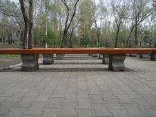 Benches. Royalty Free Stock Photos