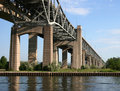 Free Bridge Over The Pier Royalty Free Stock Images - 5463239