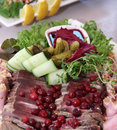 Free Meat Plate Stock Photography - 5464092