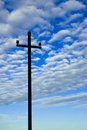 Free Old Telegraph Pole Royalty Free Stock Image - 5464546