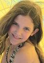 Free Portrait Girl On Umbrella Background Stock Photography - 5465032