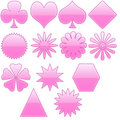 Free Pink Symbol And Logo Royalty Free Stock Photos - 5467258