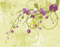 Free Floral Background Series Royalty Free Stock Photography - 5468247