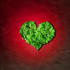 Free Leaf Heart Stock Photos - 5460203