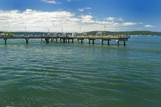 Free Ocean Pier Royalty Free Stock Photography - 5460267