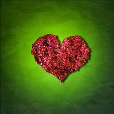Free Leaf Heart Stock Image - 5460581