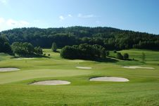 Free Golf Course Royalty Free Stock Images - 5460789