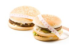 Free Hamburger Royalty Free Stock Photo - 5460855