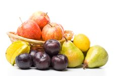 Free Still Life With Fruits Stock Photo - 5460970