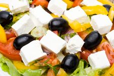 Free Greek Salad Royalty Free Stock Photo - 5461005