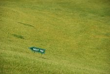 Free Golf - Next Tee Stock Photography - 5461102