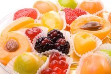 Free Background From Fruit Candy Royalty Free Stock Photo - 5461175