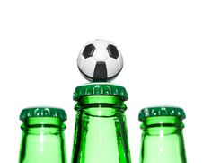 Free Beer In A Bottle Stock Photos - 5461313