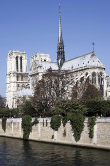 Free Notre Dame De Paris, Gothic Cathedral, France Royalty Free Stock Image - 5461936