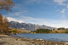 Free The Remarkables, Lake Wakatipu Stock Images - 5462404