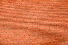 Free Big Red Brick Wall Stock Image - 5462541